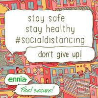 Ennia social distance