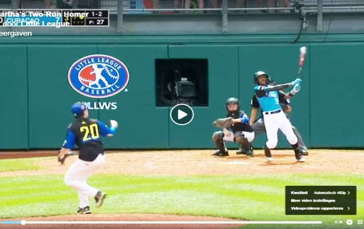 Vliegende start Pabou Little League World Series
