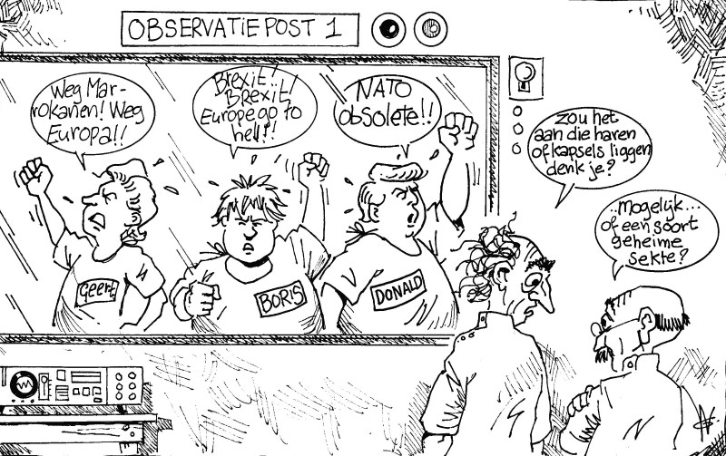 The Three Blondies | Cartoon Antilliaans Dagblad