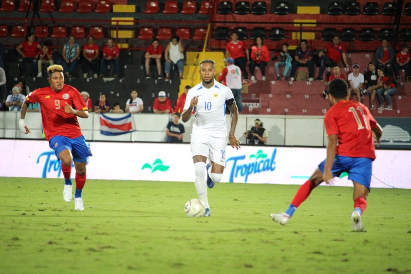 F01 Voetbal Cur Costa Rica 1